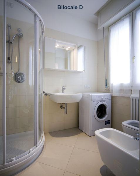 Appartamenti flavia cattolica - Arredare bagno 4 mq ...